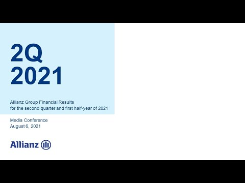 Allianz Group Financial Results for the second quarter of 2021