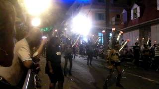 preview picture of video 'Volcan - Parade Nocturne du Lundi Gras de Basse-Terre, Guadeloupe 2012'