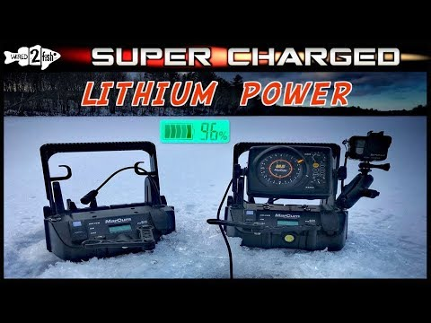 MarCum Lithium Shuttle Review – Ice Fishing