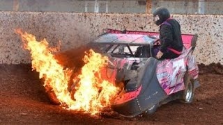 Crazy Dirt Track Racing Crash Compilation