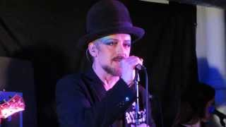 Boy George - It's Easy (1st) - 13.Nov 2013 - live acoustic in London (Rough Trade)
