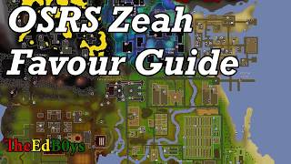 OSRS Zeah Favour Guide | Runescape 2007 Architectural Alliance Guide
