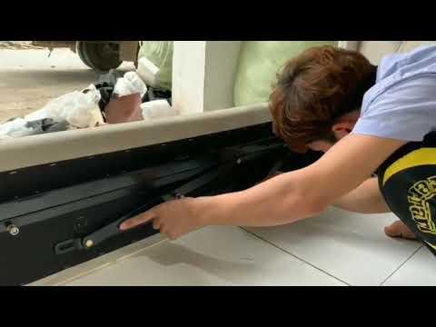 Video hướng dẫn lắp đặt giát giường với tay nâng