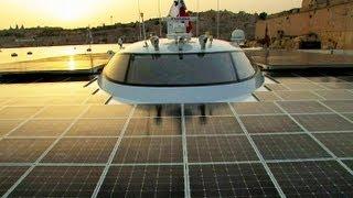 Swiss Solar Ship - around the world..