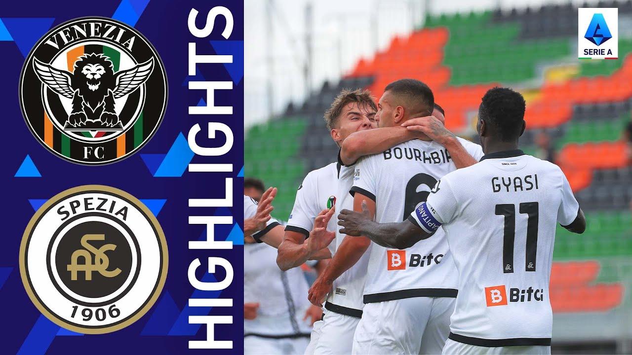 2021/22 فينيزيا 1 - 2 سبيزيا | سبيزيا يحسم اللقاء في اللحظات القاتلة | الدوري الإيطالي