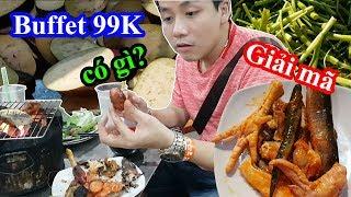 Giải mã Buffet 99K rẻ nhất Sài Gòn khiến vạn người mê -  Có gì trong buffet BBQ này?