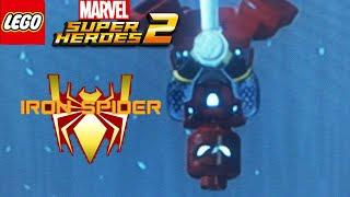 lego marvel superheroes 2 iron spider custom - 免费在线视频
