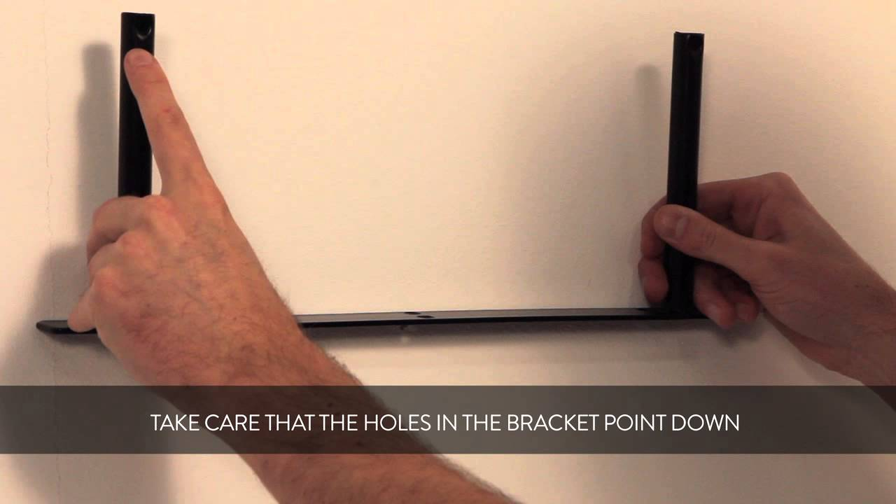 HOW TO: fixing a floating shelf to your wall
