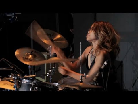 Salin Gas drum solo - Kara Dura Live in Ibiza 2012