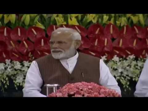 PM Narendra Modi @ the NDA meeting in Central Hall   25 05 2019   Namobharatheeyam