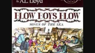 "Video thumbnail of ""Ewan MacColl & A.L. Lloyd - Paddy West (sea shanty)"""