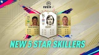 New 5 Star Skillers ft. Cruyff | FIFA 19 Ultimate Team