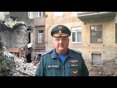 Ситуация с обрушением стены дома на ул. Галактионовской признана чрезвычайной