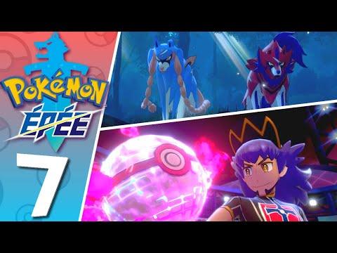 Pokémon Épée Let's play FR #7 - Rencontre avec les Légendaires & Ligue Pokémon !