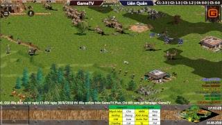 AOE | 4vs4 Random | GameTV vs Liên Quân | Ngày 14-08-2018