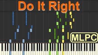 Martin Solveig feat. Tkay Maidza - Do It Right I Piano Tutorial by MLPC