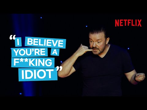 Ricky Gervais nesnáší sociální sítě - Stand-up
