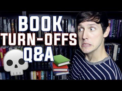 BIGGEST BOOK TURN OFFS! | Q&A