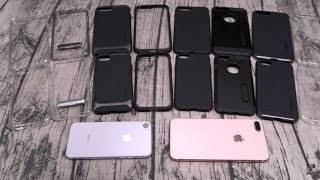 iPhone 8 and iPhone 8 Plus Spigen Case Lineup and Tempered Glass Screen Protector