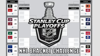2020 Stanley Cup Playoff Predictions | NHL Bracket Challenge (FROM START OF FIRST ROUND)