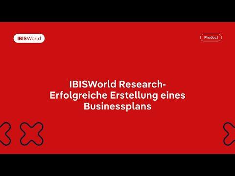 , title : 'IBISWorld Research – Erfolgreiche Erstellung eines Businessplans