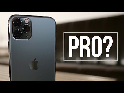 External Review Video Yuq_tYbtC8o for Apple iPhone 11 Pro & iPhone 11 Pro Max Smartphone