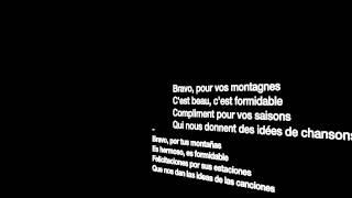 Bravo, Monsieur le monde-Michel Fugain