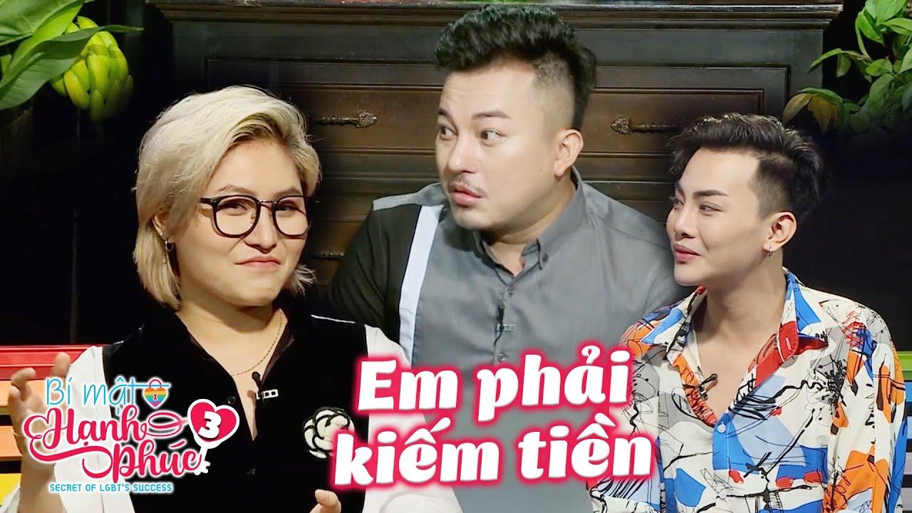 Bí mật hạnh phúc|Tập 3:Vicky Nhung nghẹn ngào khi Phương Toàn bỏ The Voice để kiếm tiền lo cuộc sống