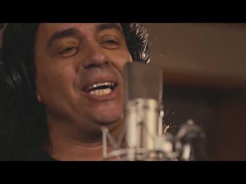 Luís Dillah com Zeca Baleiro e Swami Jr. na gravação da música 'Rama'
