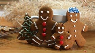 How To Make Gingerbread Cookies | Easy Gingerbread Men Cookie Recipe
