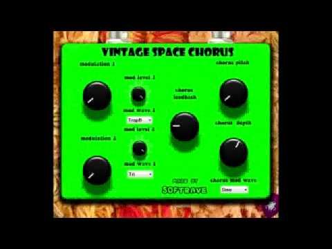 Vintage Space Chorus VST 1 0 - virtual effect for pc
