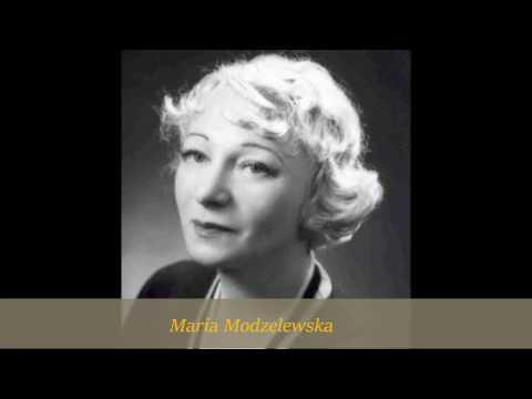 AWANS DLA PANNY- MARIA MODZELEWSKA 1934!