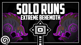 SOLO RUN ATTEMPTS - Extreme Behemoth   MHW