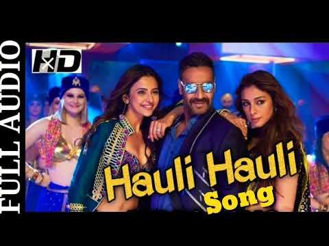 Download Hauli Hauli (Full Audio) Song |De De Pyaar De |Ajay Devgn |Neha Kakkar, Garry Sandhu |New Songs 2019 HD Mp4 3GP Video and MP3