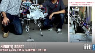 Development of the Lightweight Hydraulic Quadruped Robot - MiniHyQ (TEPRA'15)