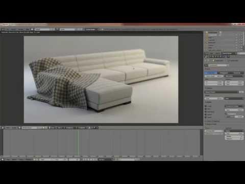 divano e coperta