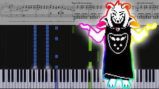 Undertale // Hopes and Dreams & Last Goodbye // Piano // TuTORIEL // OST 87 & 96