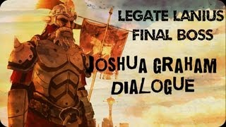 Fallout New Vegas: Legate Lanius - Joshua Graham Dialogue Ending