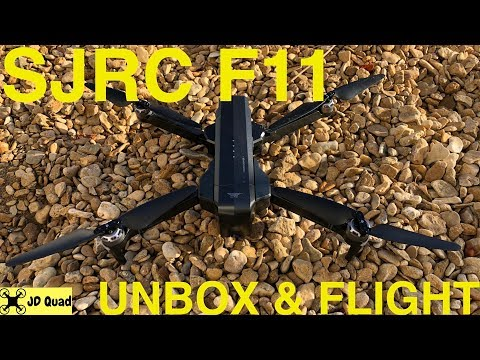 SJRC F11 Unbox & Flight - Courtesy of Banggood
