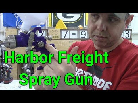 Harbor Freight HVLP Spray Gun Review