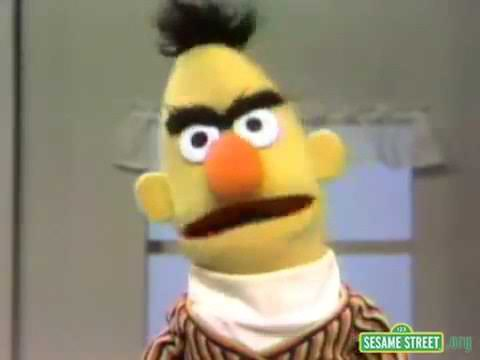 Sesame Street Bert Gets Angry смотреть онлайн на Hahlife