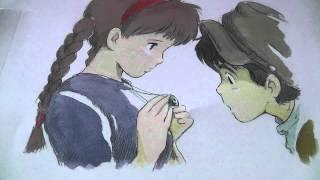 連弾 「 アシタカとサン 」 ~ もののけ姫 ~ 初見演奏