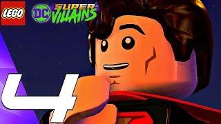 LEGO DC Super Villains - Gameplay Walkthrough Part 4 - Poison Ivy Boss Fight (Full Game)