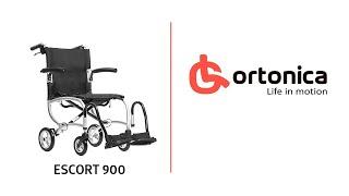 Кресло-каталка для инвалидов Ortonica Base 115 (Инвалидное кресло) от компании INVAMARKET Товары для инвалидов и средства реабилитации - видео