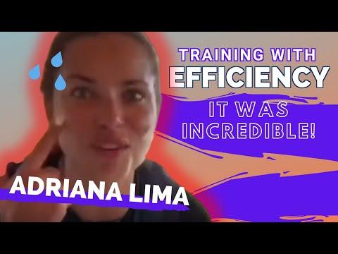 Adriana Lima   EMS Training Victoria's Secret Models