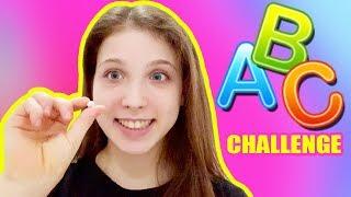 ABC GYMNASTICS CHALLENGE 😂 || AURY GYMNASTICS