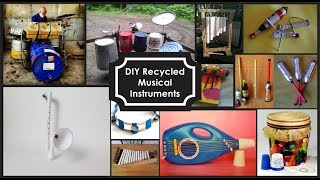 Ideas De Instrumentos Musicales Con Materiales Reciclados/DIY Recycled Musical Instruments