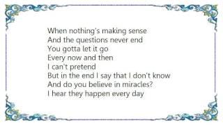 Charlotte Church - Show a Little Faith Lyrics