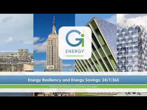 WEBINAR - California: ENERGY RESILIENCY and ENERGY SAVINGS (part 1)