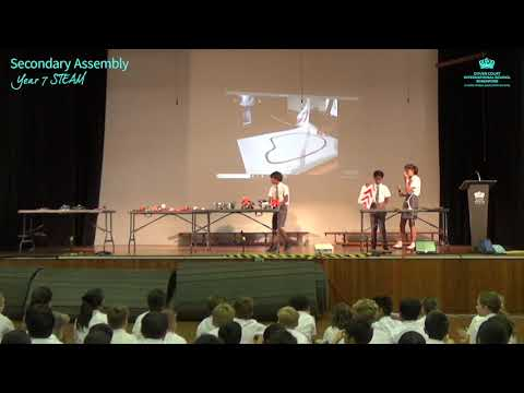 Secondary School Assembly - STEAM by Year 7